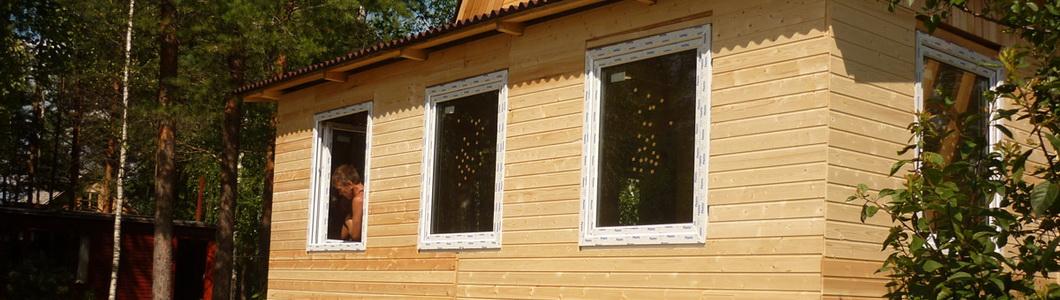 Окна в каркасных домах