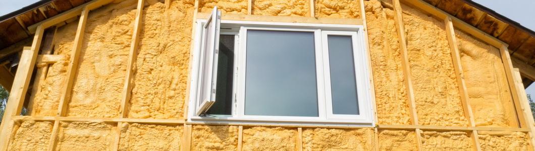 Монтаж и установка окон в каркасных домах